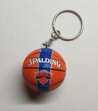 NBA Basketball New York KNICKS Spalding Ball KEY CHAIN Ring Keychain NEW