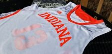 adidas Indiana Hoosiers Authentic Team Issued Hoosiers Hysteria Jersey Ncaa Xl+2