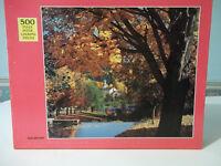 Vintage Jigsaw Puzzle River Sanctuary  - Rainbow Works - 500 Pieces - Complete