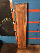 """#9641     2 5/8"""" THICK KILN DRIED spalted Maple Live Edge Slab lumber wood"""