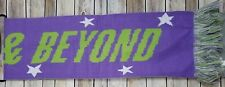 Disney Scarf Toy Story Buzz Light Year Purple Green To Infinity & Beyond 10 x 64