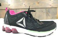 Reebok Jet Dashride 5.0 (Black/Mint/Solar Pink/White) Women's Shoes Size 7 1/2