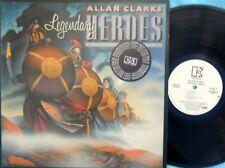 Allan Clarke ORIG US Promo LP Legendary heroes NM '80 Elektra Hollies Pop Rock
