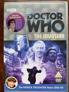 Doctor Who The Invasion DVD 1968 Classic BBC Sci-Fi TV Series Patrick Troughton