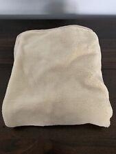 Euc Arm's Reach Co-Sleeper Bassinet Mini Plush Sheet, Natural