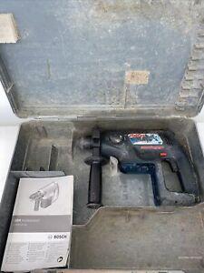 Bosch GBH 24 VRE CORDLESS SDS + HAMMER DRILL + CASE