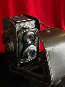 Vintage Graflex 22 Camera With Graflex 85mm f/3.5 Lens And Case (no reserve)