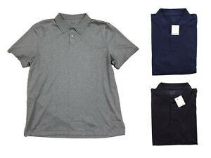 Calvin Klein Polo Shirt Liquid 100% Cotton Men's Lifestyle Classic Fit Top