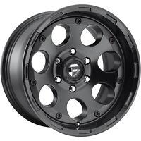 18x9 Black Wheel Fuel Enduro D608 5x5.5 1
