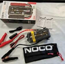 NOCO Genius Boost GB70 2000 Amp Lithium Jump Starter 12V NEW!!! 19366934 GM