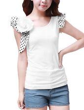 Love Polka Dot Regular Size Tops for Women