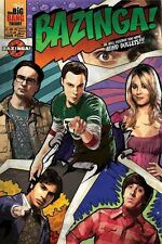 THE BIG BANG THEORY ~ BAZINGA COMICS 24x36 TV POSTER Jim Parsons Kaley Cuoco