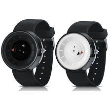 Fashion Men's Luxury Stainless Steel Analog Quartz Sport Silica gel Wrist Watch