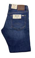 Mustang Oregon Boot True Denim Men's Slim FIT Jeans Blue W:29 to 38, L:30 to 34