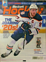New October 2019 Beckett Hockey Card Price Guide Magazine With Connor McDavid