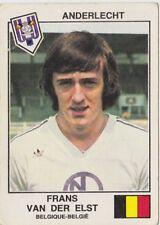 PANINI FOOTBALL 1979 ANDERLECHT FRANS VAN DER ELST BELGIQUE