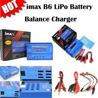 iMAX B6 LCD Screen 80W Digital RC Lipo NiMh Battery Balance Charger Adapter Accs
