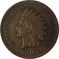 1903 1c Indian Cent - Uncirculated