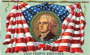 # M2788     FOURTH OF JULY   POSTCARD,     4TH   OF JULY