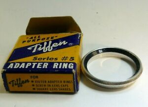 "Tiffen series 5 V  Filter retaining Ring for filter holder 1 5/16"""