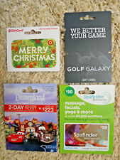 Gift Cards, Collectible, with backing, new, unused, no value on the cards (L-12)