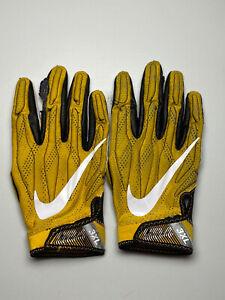 Iowa Hawkeyes Team Issued Nike Superbad 4.0 Football Gloves 3XL **2 RH GLOVES**