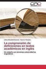 La comprensión de definiciones en textos académicos en inglés: Un estudio con al