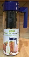 Takeya 2qt Flash Chill Iced Tea Maker, Blueberry