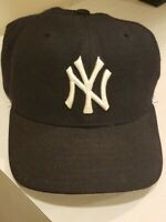 USED new york yankees hat size 6 7/8 cap fitted mlb baseball ny