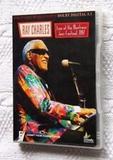RAY CHARLES- LIVE AT THE MONTREUX JAZZ FESTIVAL, 1997 (DVD) R-ALL, LIKE NEW