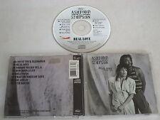 ASHFORD & SIMPSON/REAL LOVE(CAPITOL CDP 7 46368 2) CD ALBUM