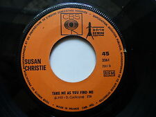 susan CHRISTIE Take me as you find me / i love onions CBS 2261