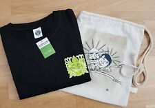 AUTHENTIC STARBUCKS BALI TSHIRT & BAG, SIZE L. NEW WITH TAG
