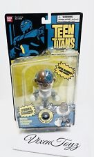 DC Comics Bandai Teen Titans Cyborg Super Deformed Head NIB DMG PKG