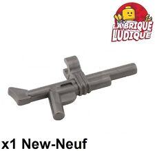 Lego - 1x minifig arme weapon fusil gun pistolet gris pearl dark gray 99809 NEUF