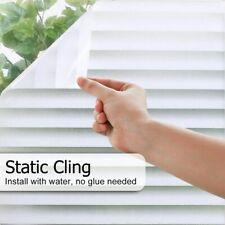 Pellicola Privacy effetto persiana per Finestre Vetri Autoadesive Anti-UV calore