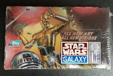 Topps Star Wars Galaxy 0041116404030 Deluxe Trading Cards Series 2 Character