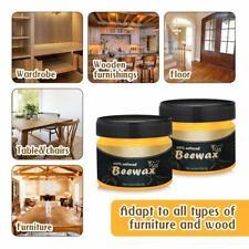 2 Wood Seasoning Beeswax Natural Furniture Polish Bee Wax Traditional Beewax Usa