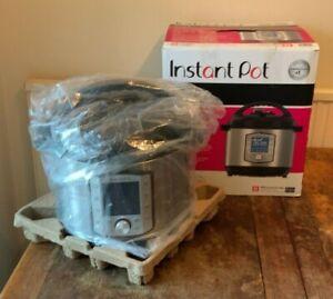 Instant Pot Duo Evo Plus 10-in-1, 7.6L Pressure Cooker, Sterilizer, Slow Cooker