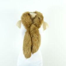 Fuchspelz zorro fell Pelz estola guardián fox fur vintage cuello bufanda (dw67)