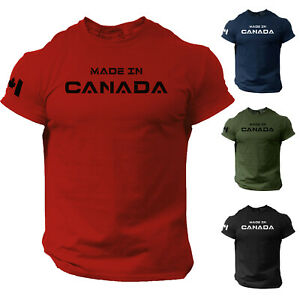 Canada Distressed Flag Canadian World Cup Nationality Ethnic Pride-Mens T-shirt