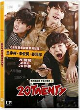 "Kang Ha Neul ""20 Twenty"" Lee Jun Ho Korean Comedy HK Version Region 3 DVD"