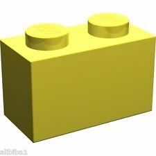 50x LEGO® 3004 GELB 1x2 Basic Stein NEUWARE RARE ITEM YELLOW OLD STYLE