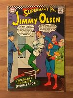 Superman's Pal Jimmy Olsen 102 (DC 1967) Supergirl App~Doublecross~Silver Age~FN