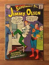 Superman's Pal Jimmy Olsen 102 (DC 1967) Supergirl App~Doublecross~Silver Age~FN