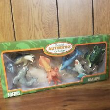 New Safari Ltd Figure Squid Shark Whale Seal Turtle Sea Life Habitat Authentics