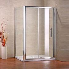 CABINA DE DUCHA Puerta Corredera  cristal templado 1100x760mm mamparas de baño