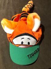 Disney Store Tigger Baseball Hat W/ Ears, Tail Cap Toddler Kid Orange Halloween