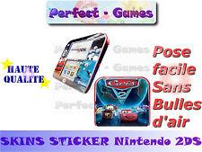 Skin sticker auto-collant vinyl Cars n°1 pour console nintendo 2DS
