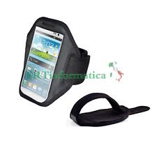 CUSTODIA BRACCIO FASCIA SPORT CORSA PER SAMSUNG GALAXY NOTE 2 3 N7100 N9000 +++